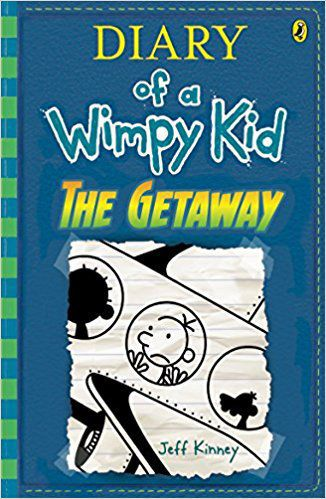 The Getaway Diary of a Wimpy Kid (BK12), Jeff Kinney, publicity photo