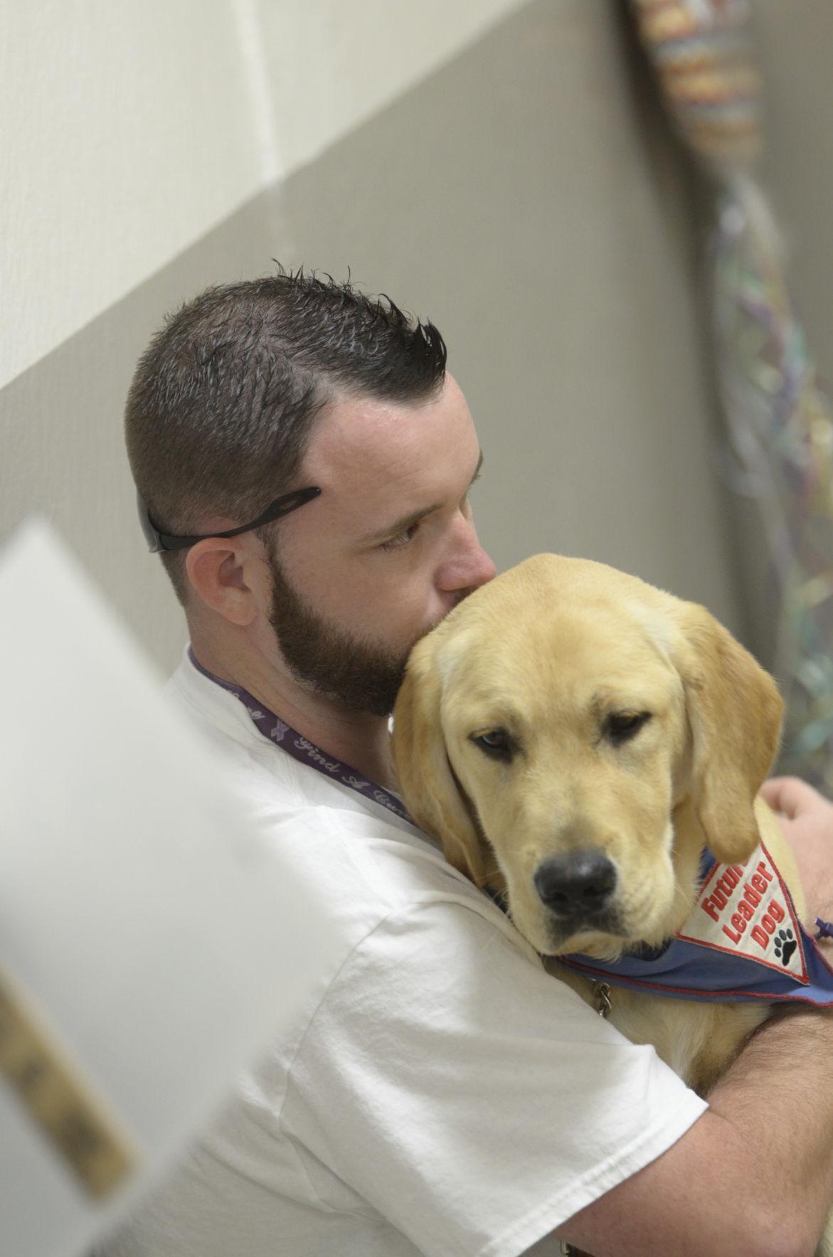 Inmates Train Puppies