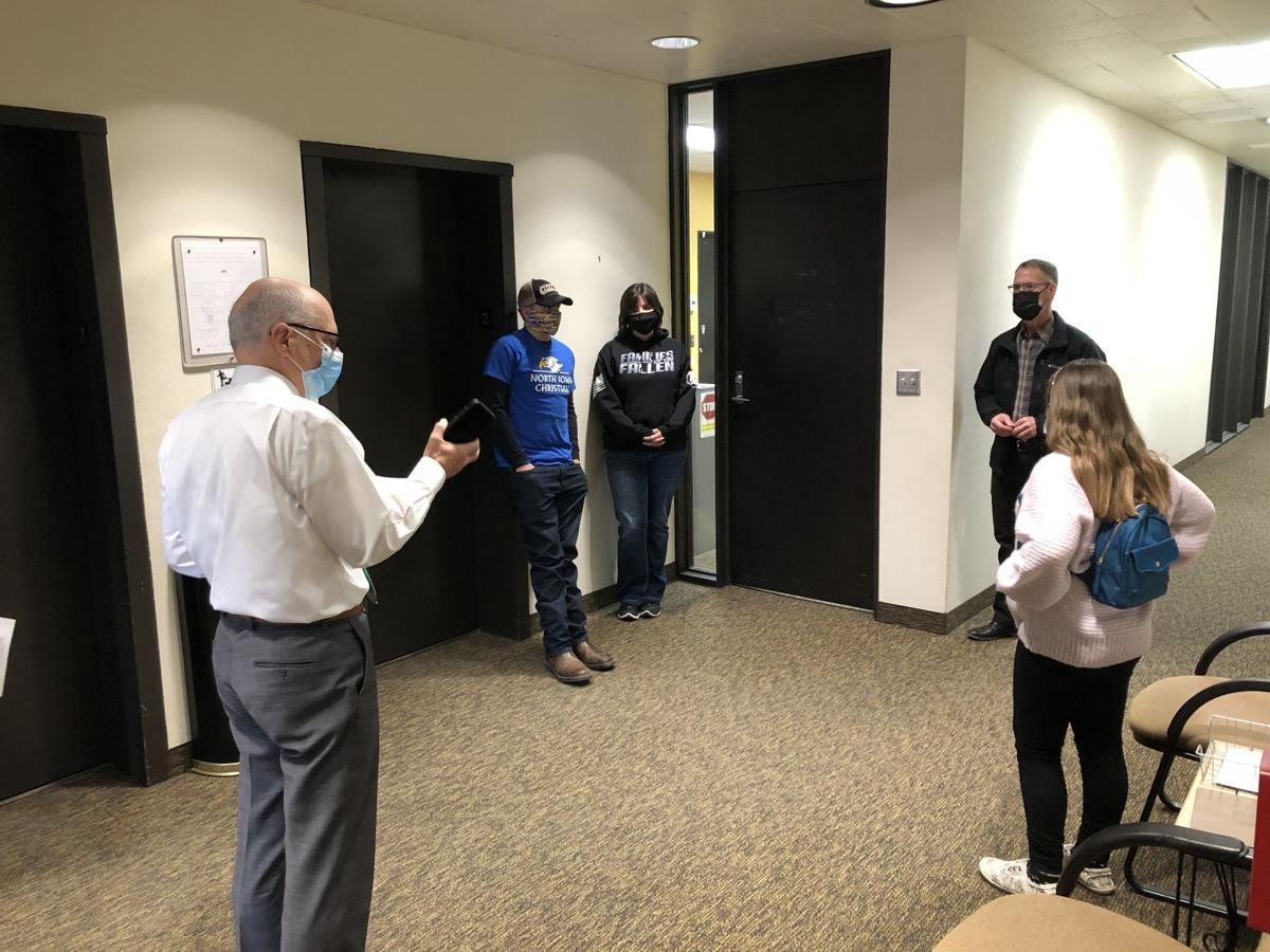 Mason City Mayors for the Day touring