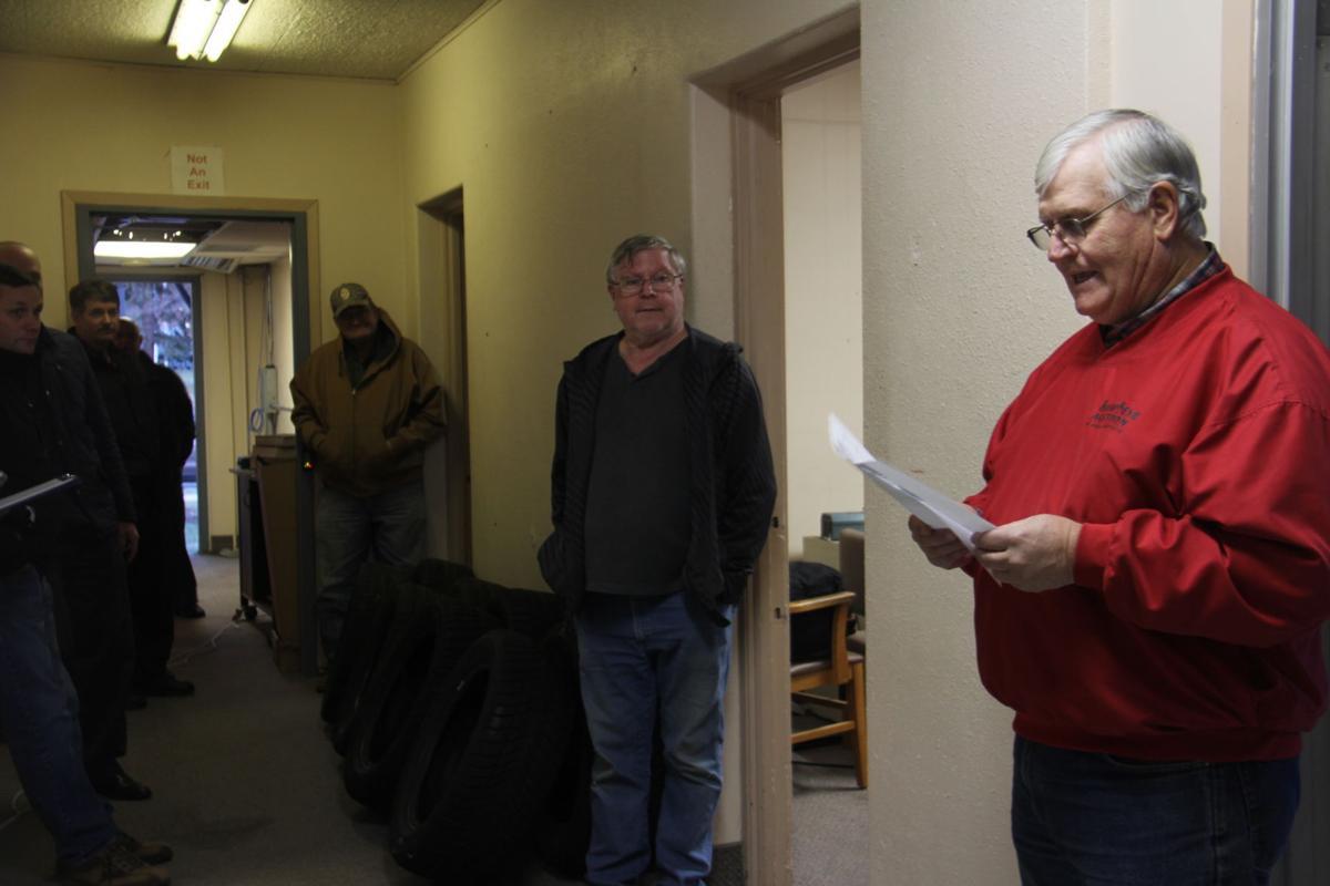 Former Winnebago County law enforcement center auction