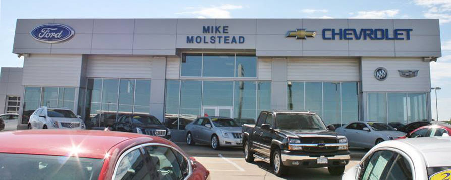 Mike Molstead Motors Ford Chevrolet Charles City Ia