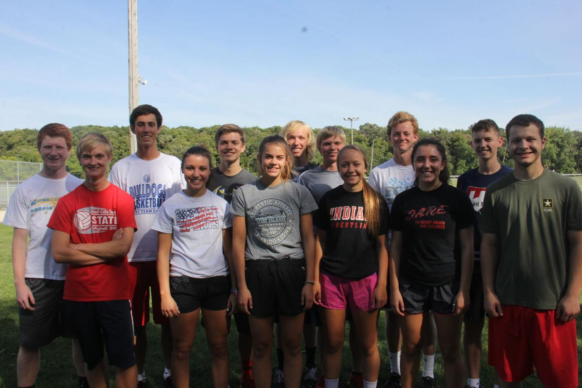 Forest City Cross Country seniors