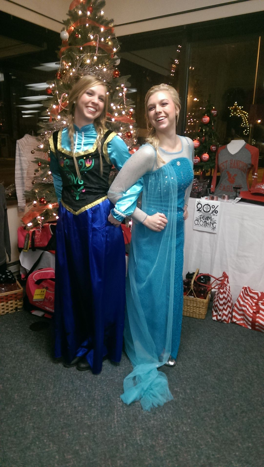 "Princesses from ""Frozen"""