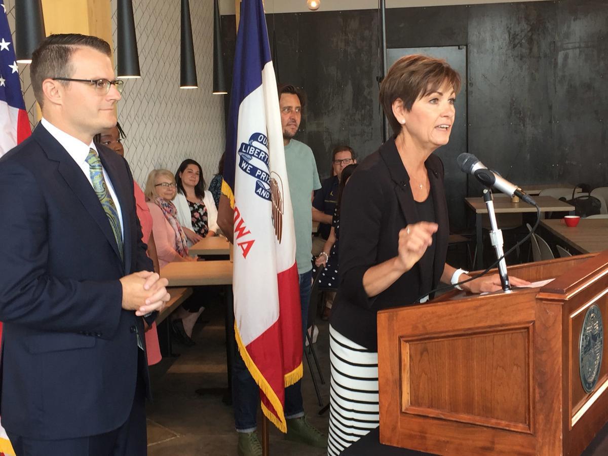 Gov. Kim Reynolds unveils Iowa marketing campaign