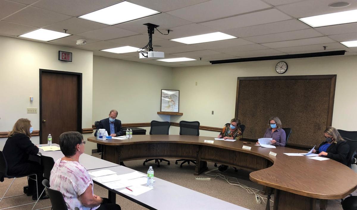Mason City School Board Objections Committee Meeting-Tass