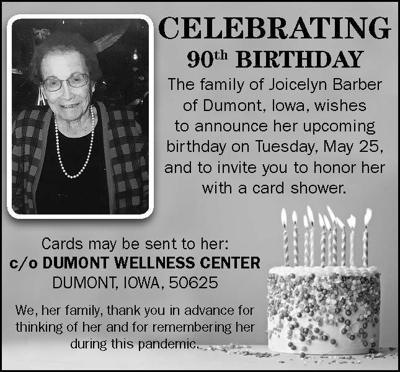 Happy Birthday Joicelyn Barber
