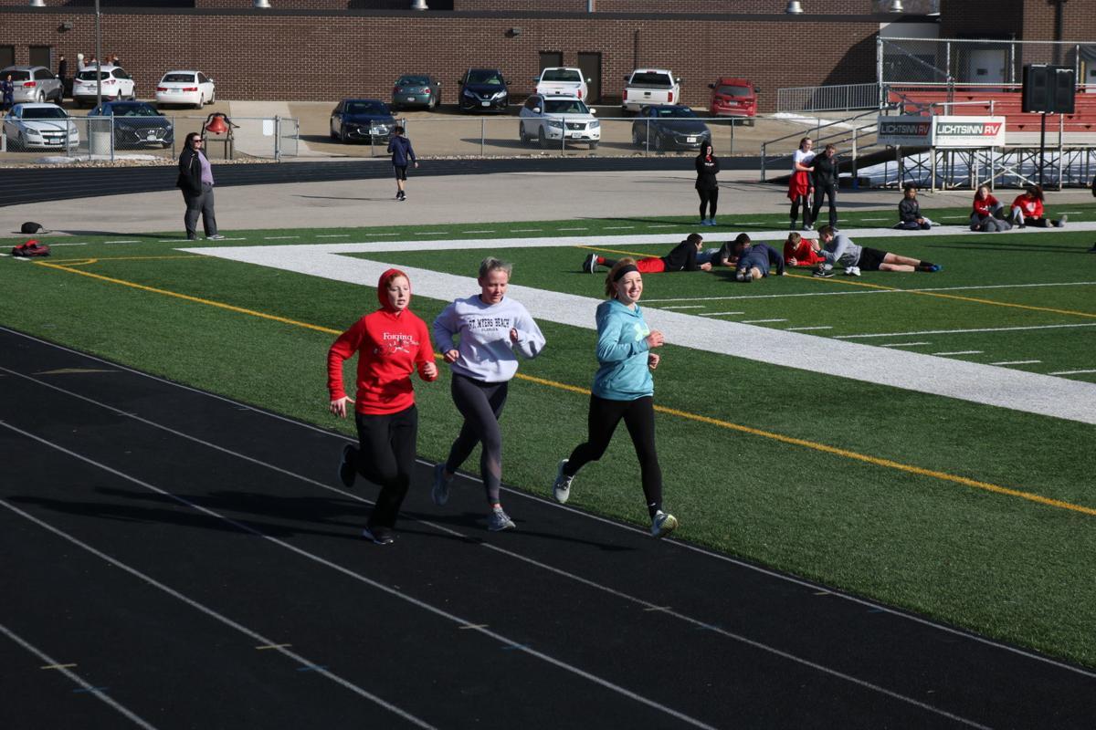 FCHS Girls Track Run