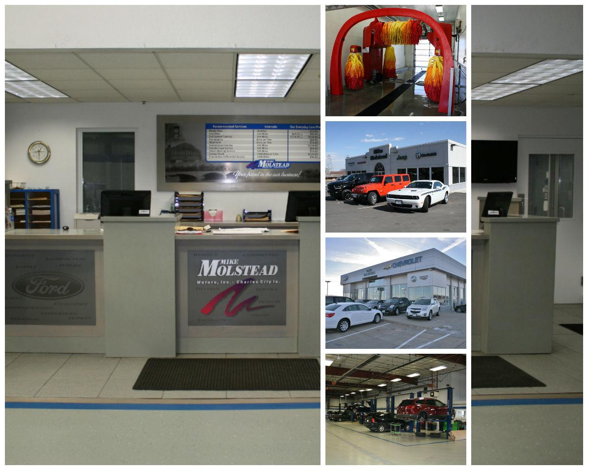 Mike molstead motors ford chevrolet charles city ia for Mike molstead motors charles city iowa