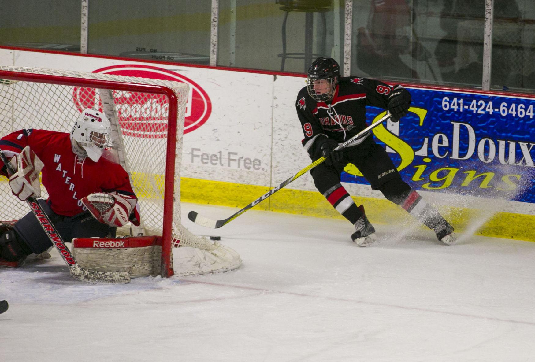 high school resume%0A Hockey Mohawks vs  Waterloo