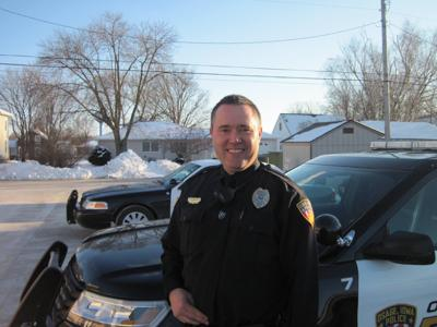 Osage Police Officer Jason Cole