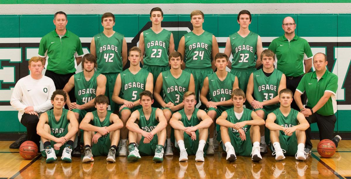 Osage boys basketball team