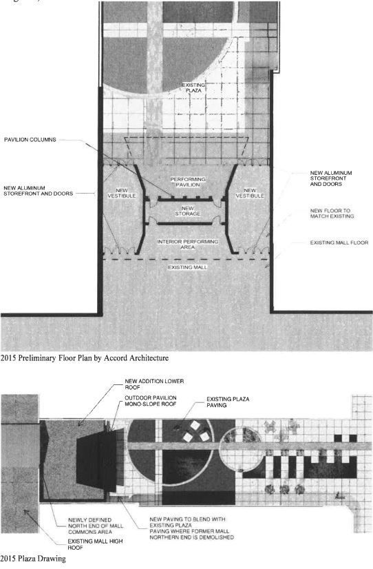 Performing arts pavilion design