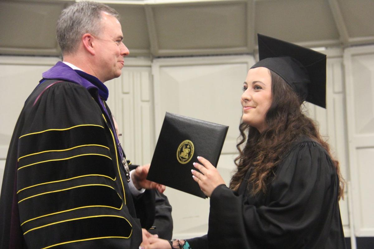 Ashleigh Hobscheidt graduates