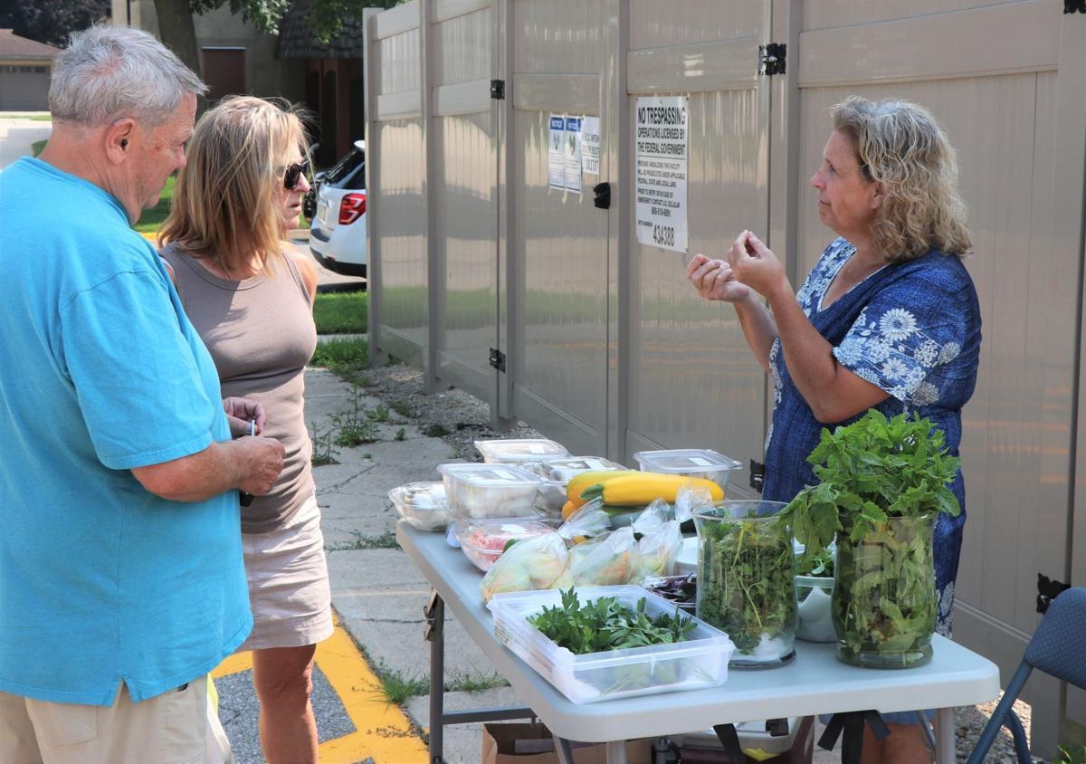 Becky Murphy at Farmers Market 7-15-21