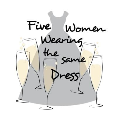 'Five Women Wearing the Same Dress' logo