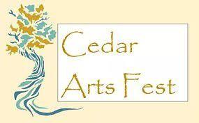 Cedar Arts Fest logo