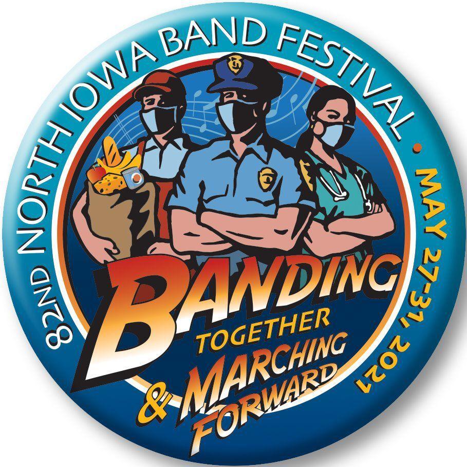 2021 North Iowa Band Festival logo