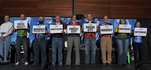 RAGBRAI will spend nights in Forest City and Mason City