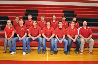 West Hancock High School boys golf team