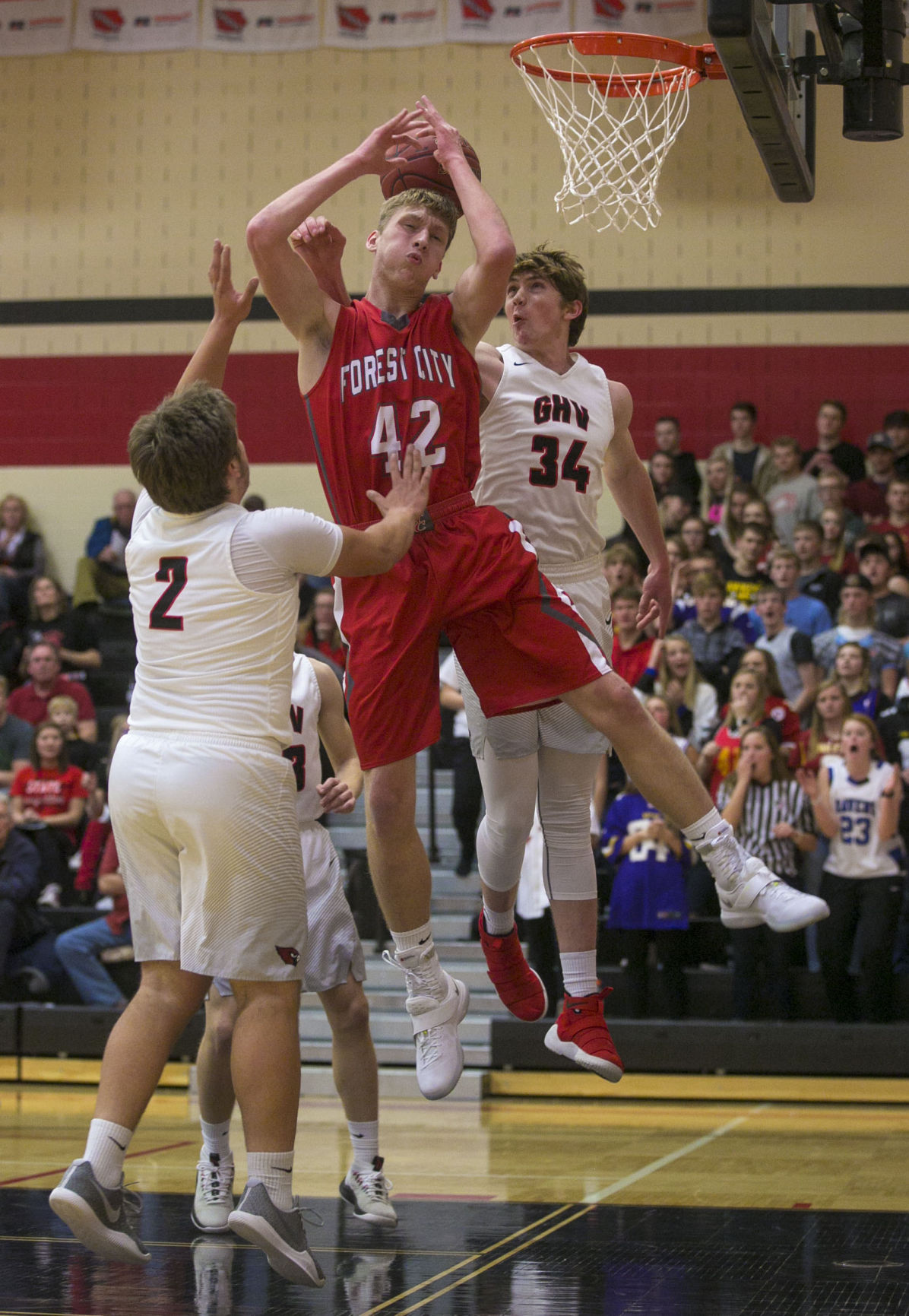 BBBall GHV vs. Forest City 1