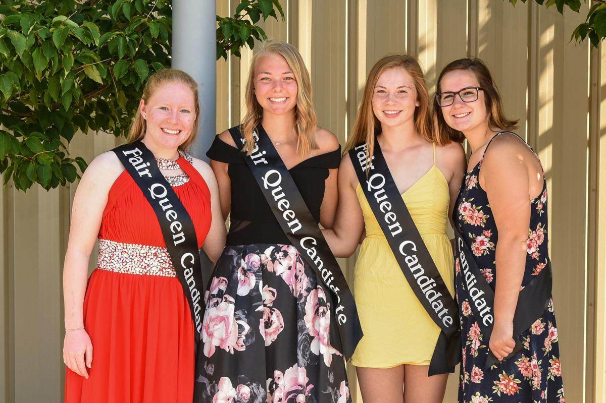 2019 Mitchell County Fair Queen candidates