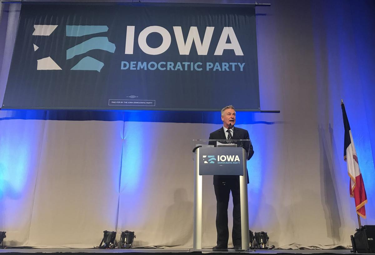 Alec Baldwin Iowa fundraiser