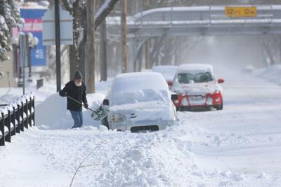 Plows take aim at North Iowa highways and roads after wicked