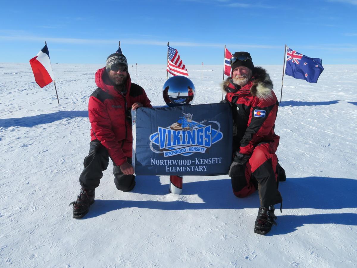 Paul Adams at the South Pole 1