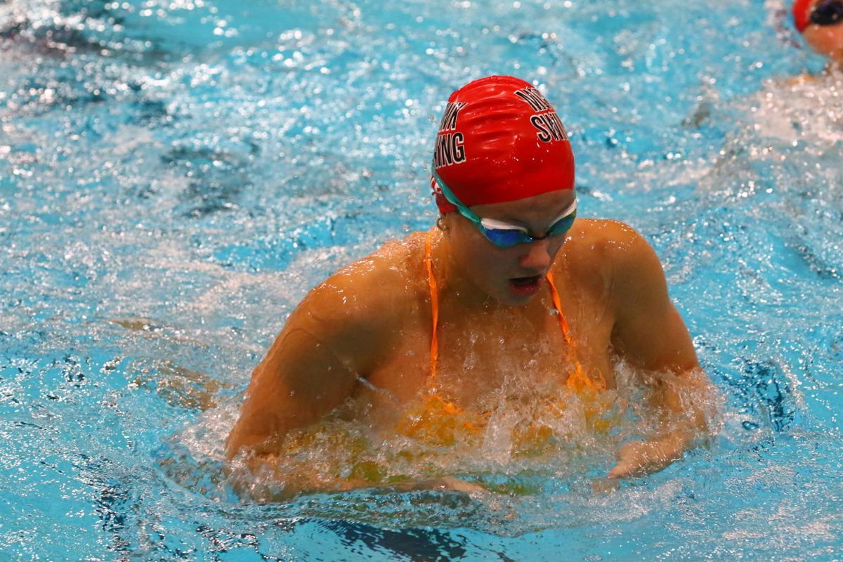 Mason City girls swimming 1