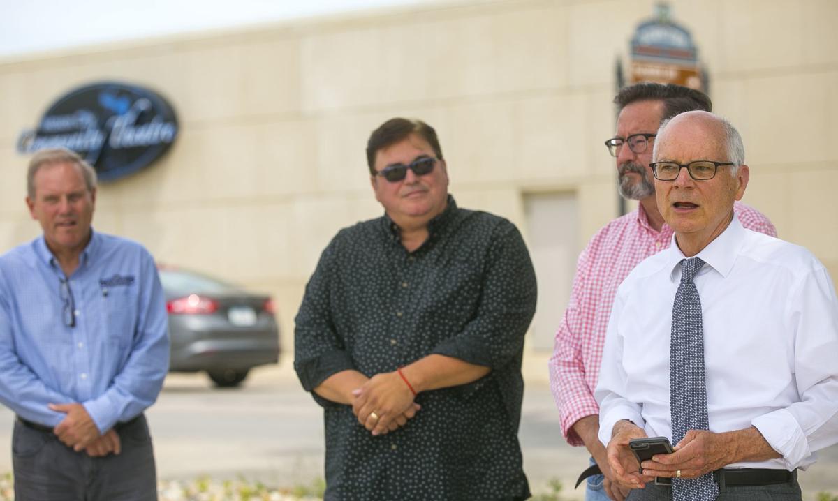 Mason City officials tour future hotel site
