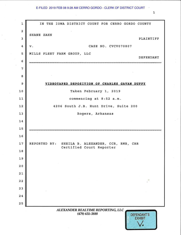 Exhibit V Duffy Transcript.pdf