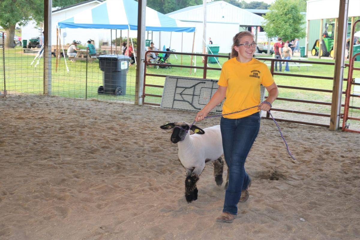 Allison Rygh Market Lamb Champion on Parade July 17.JPG