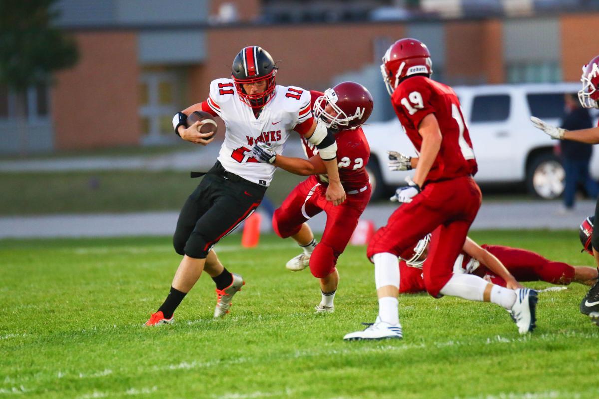 Newman vs. West Fork football