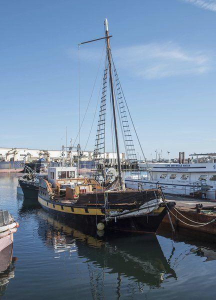 Damaged 'pirate ship' awaits repairs | Local News | gloucestertimes com