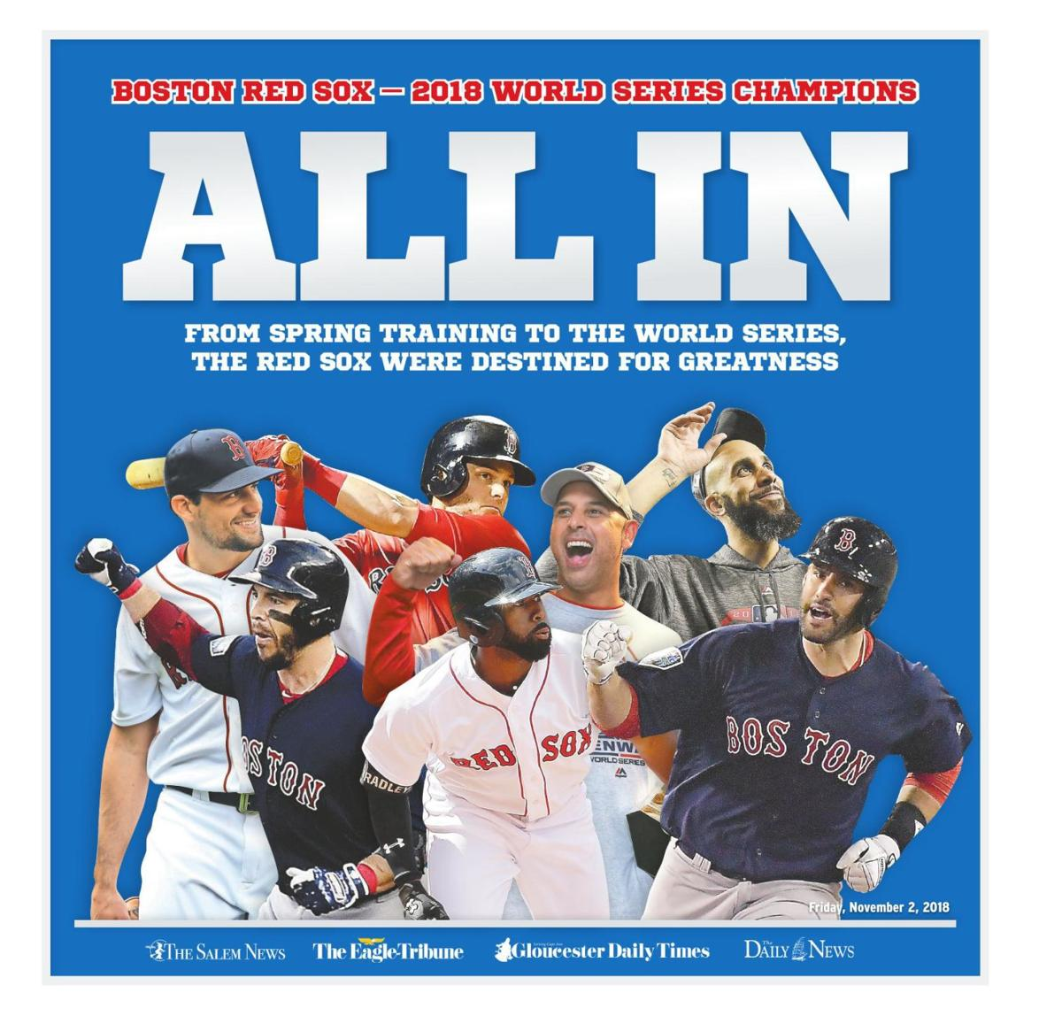 BOSTON RED SOX – 2018 WORLD SERIES CHAMPIONS | Special