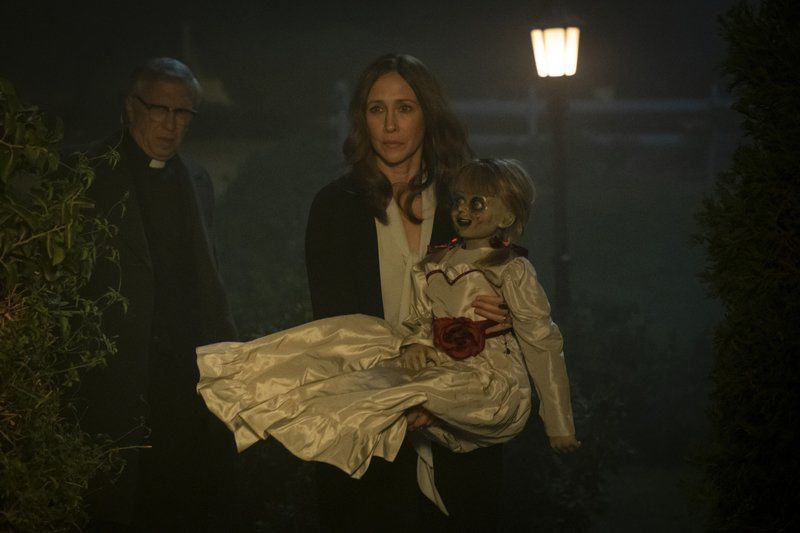 Movie review: In latest 'Annabelle,' a baby-sitting gig goes awry