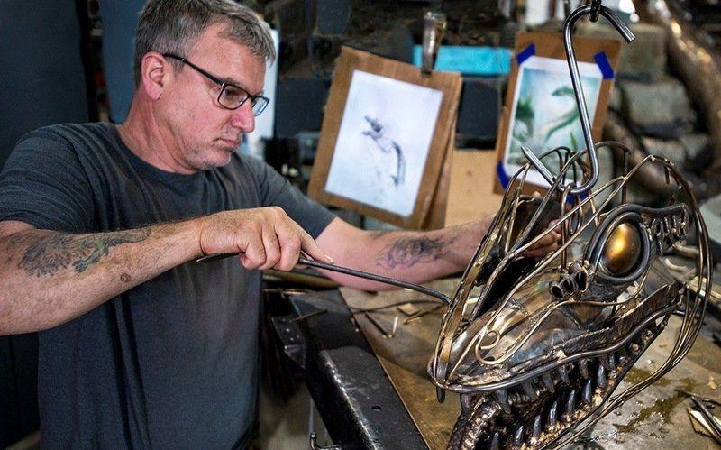Gloucester serpent tosurfaceat Cape Ann Museum