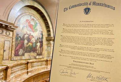 Gov. Baker's Thanksgiving Proclamation