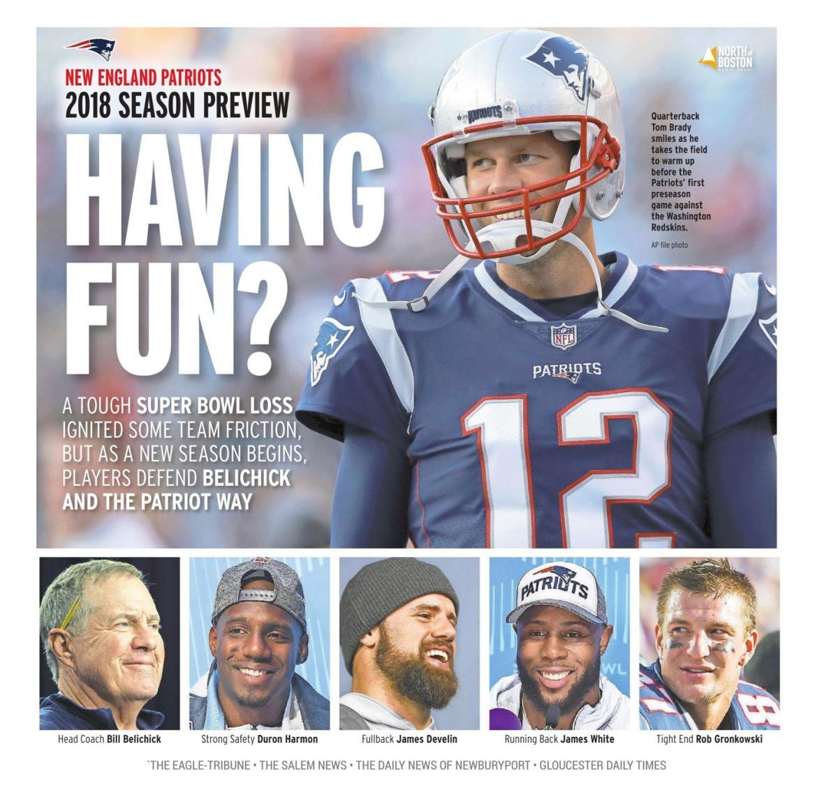 New England Patriots 2018 Season Preview