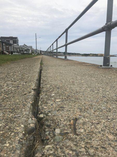 Rockport looks to fix Long Beach seawall