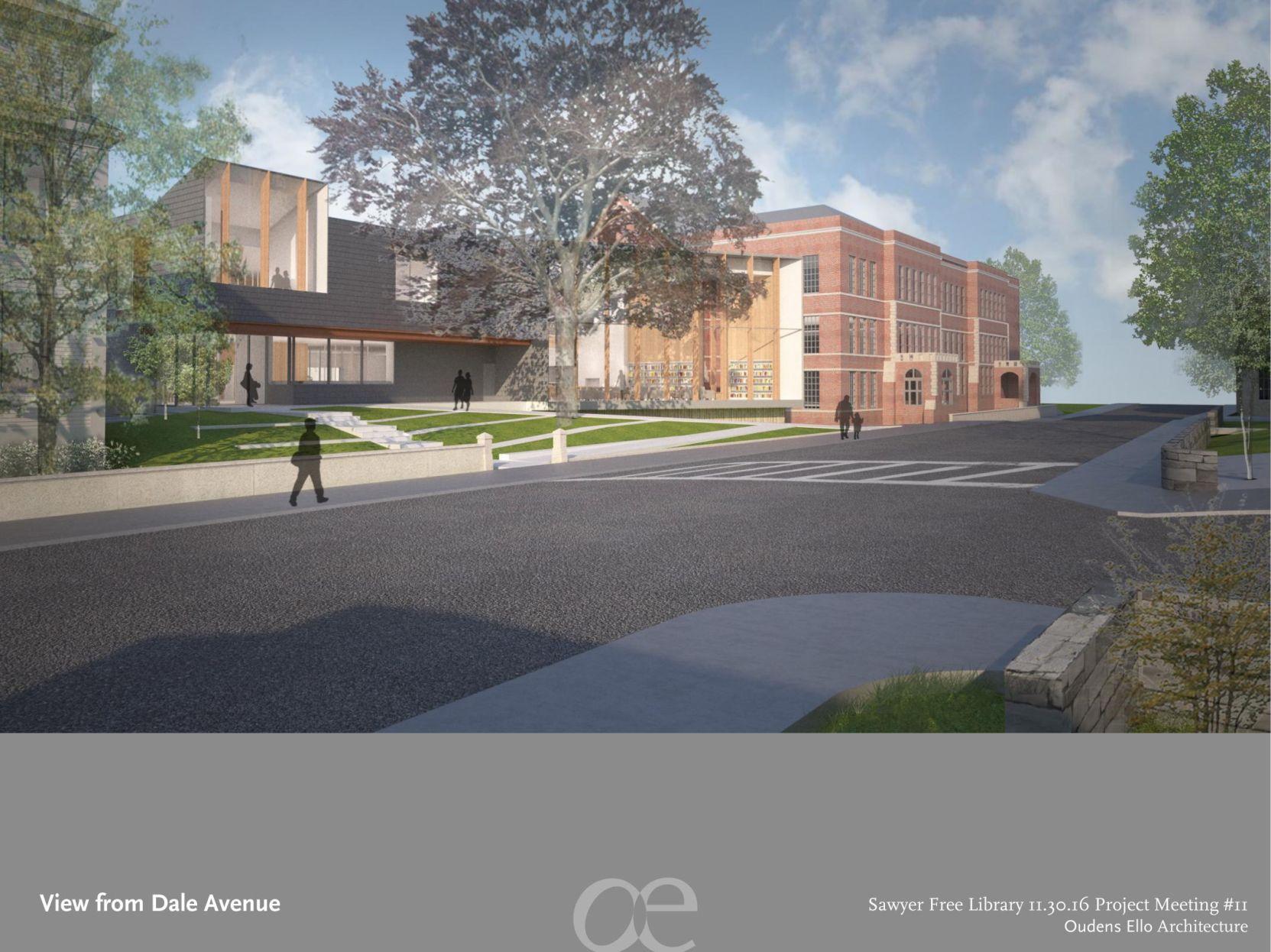 Elegant Download PDF Sawyer Free Library Expansion Plan