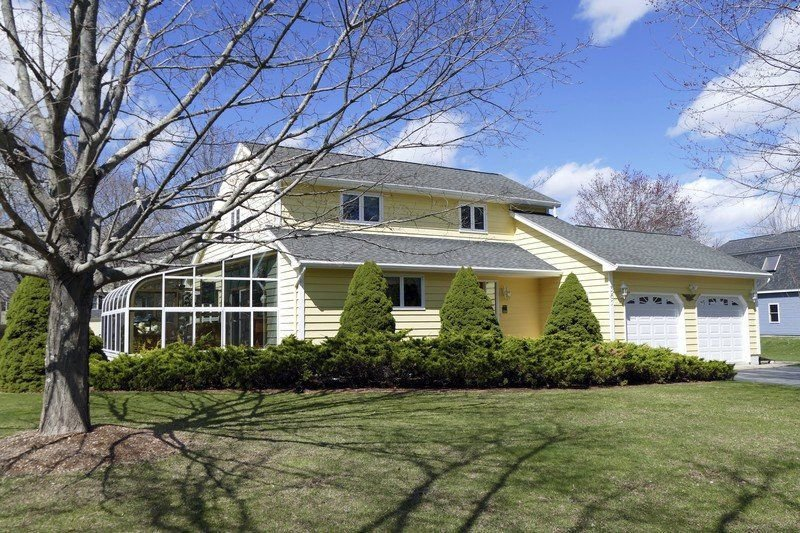 Move-in-ready saltbox offers bucolic living in Rowley