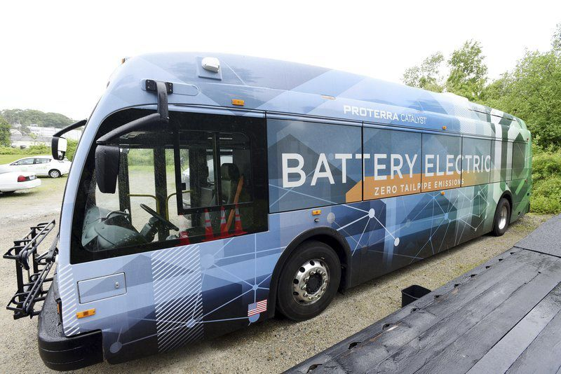 CATA test drives electric bus