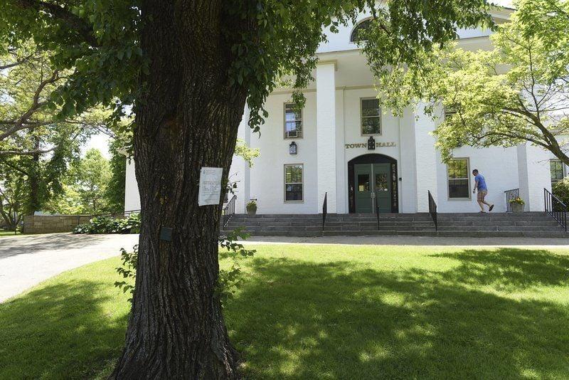 Residentsstump to keep trees, selectmen rethink plans