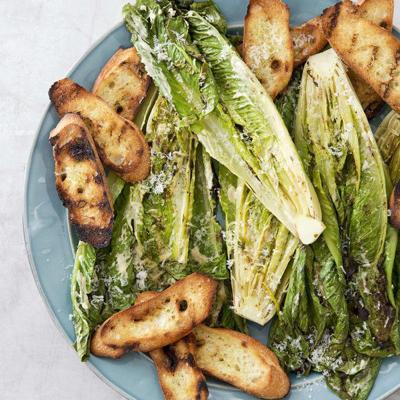 Take your Caesar salad to the grill