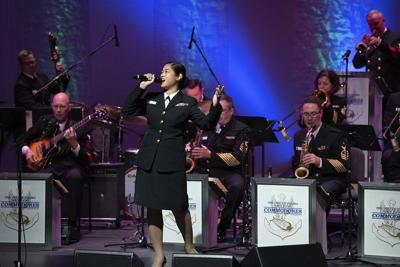 Navy band sailing into town next month