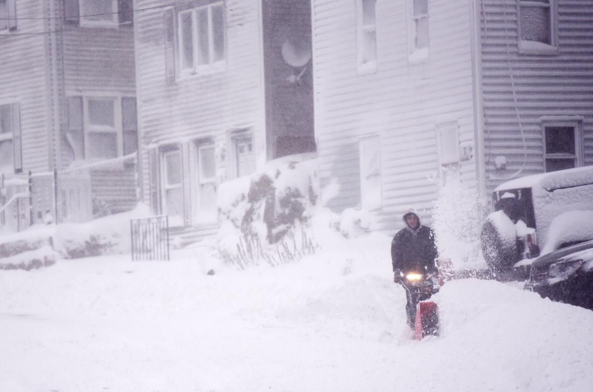 Winter's first storm, Dec. 17, 2020
