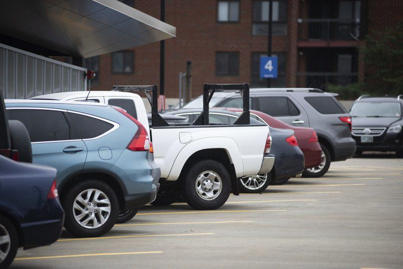Parking Garage Fills up Fast