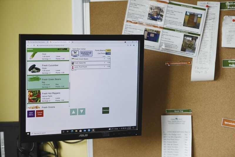 Food pantry launches online ordering system