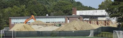 New Memorial Elementary School construction starts off strong